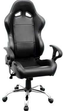 Fine Folding Pvc Black Racing Office Chair Boss Seating Chairs Pdpeps Interior Chair Design Pdpepsorg