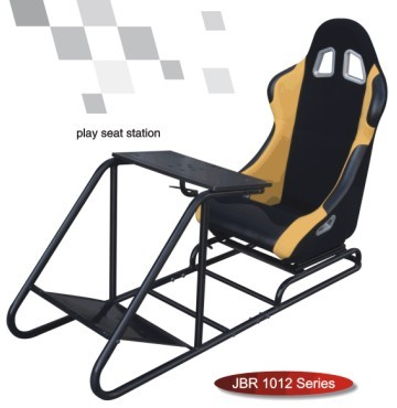 Play Station WIth Seat Sport Racing Sears Simulator Cockpit Gaming Chair  JBR1012