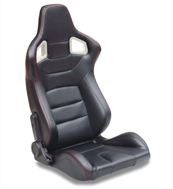 Different Material Sport Racing Seats Pvc Fabric Car Seat 131 27 57cm