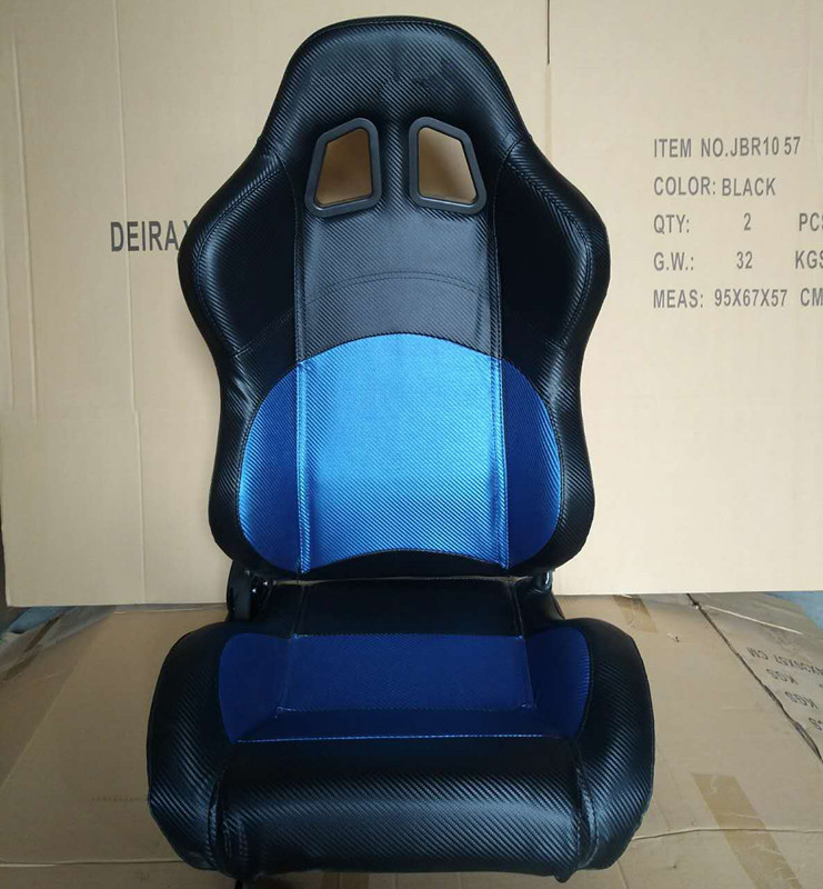 JBR1032 PVC Sport Racing Seats With Adjuster / Slider Car Seats