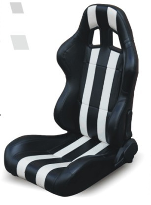 Attractive High Performance Universal Sport Car Seats / Black And White Bucket Seats Ideas
