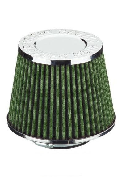 Reusable Car Part Racing Air Filter Green , High Performance Auto Air Filters