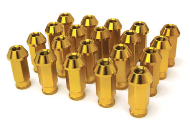 Custom Universal Car Racing Lug Nuts 50mm Length , Auto Hub Nuts