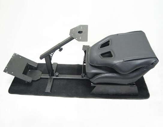 Adjustable Folding Racing Simulator Seat With Support of Steering Wheel+Pedal+Sh 1012B